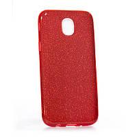 Чехол для телефона силиконовый Twins for Samsung A730 A8 Plus 2018 - Красный