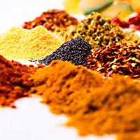 Смесь трав лук, чеснок, перец и другие пищевые специи