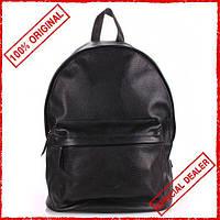 Рюкзак Poolparty Leather черный