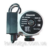 Насос KRAKOW UPS 25/60 130 мм циркуляционный (серый)
