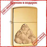 Зажигалка Zippo 254B Laughing Buddah Emblem 29626