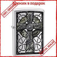 Зажигалка Zippo 200 Сeltic Cross Design 29622