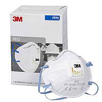 3M™ 8822 Респиратор с клапаном FFP2 (от токсичной пыли)