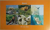 """Малави Блок """"Животные"""" Медведи 2011 г."""