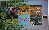 """Малави Блок """"Животные"""" 2012 г., фото 1"""