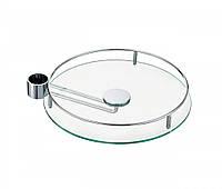 Полка стеклянная с держателем диаметр 350 мм