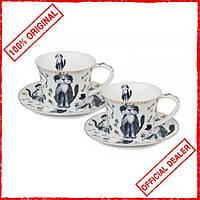 Чайный сервиз Lefard Коты на 2 персоны 924-048