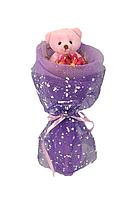 """Букет из игрушек """"Конфетка"""" фиолетовый"""