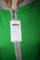 Трикотажный халат с капюшоном, фото 2