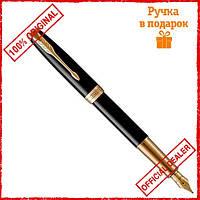 Перьевая ручка Parker SONNET 17 Black Lacquer GT 86 011