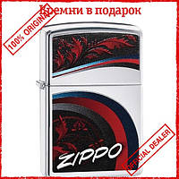 Зажигалка Zippo 29415 Satin and Chrome