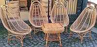 "Набор плетеной мебели ""Ямайка 4 кресла"""
