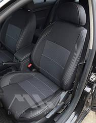 Чехлы на сиденья Premium для Chevrolet Aveo 2002-12 г. хэтчбек MW Brothers.