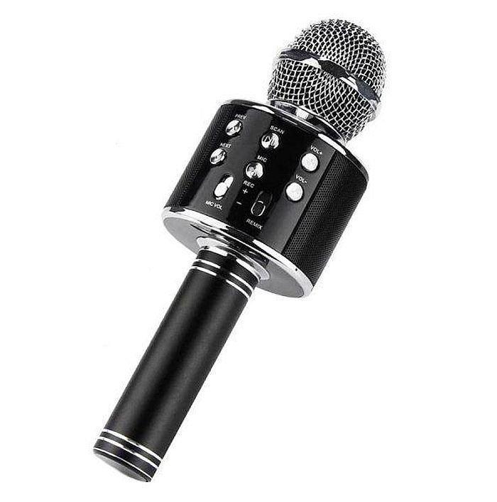 Бездротовий мікрофон караоке Ws-858, black