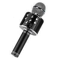 Бездротовий мікрофон караоке Ws-858, black, фото 1