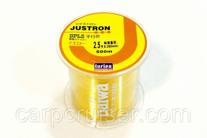 Леска Daiwa Justron Turiou DPLS 0.26 мм., намотка 500 м