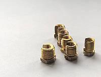 Крепежные комплектующие гайка разрезная М8х1, фото 1