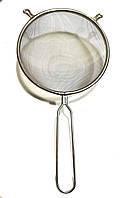 Сито кухонное с ручкой нержавеющая сталь Super 20 см