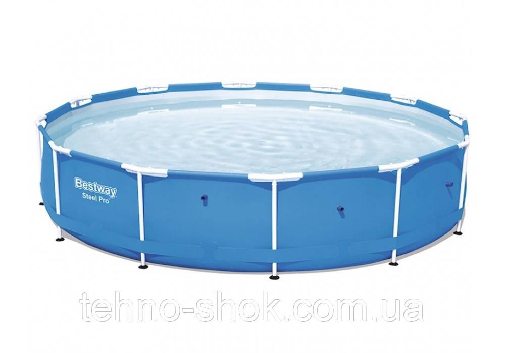 Каркасный бассейн Bestway 56706 круглый 366х76 см