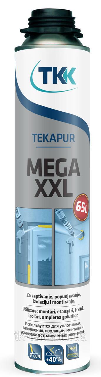 Пена монтажная TEKAPUR Mega XXL (65l).