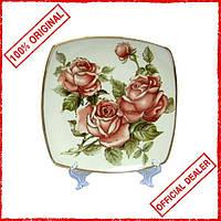 """Набор тарелок Lefard """"Корейская роза"""" 6 пр. 25см 215-096"""