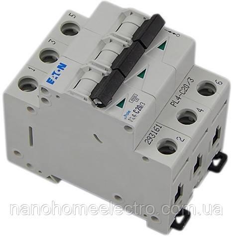 Автоматический выключатель 3п 25А Eaton