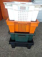 Ящики пластиковые 600 400 200 76грн опт новые 1.7кг 5мм