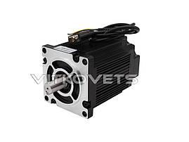 3-х фазный шаговый двигатель с энкодером, NEMA42 110HCE139-4203A19-B39 с гибридным серводрайвером HSS2206, фото 2