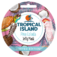 Поживна гелева маска з кокосовою водою  Marion Tropical Island Pina Colada 10 г (4109026)