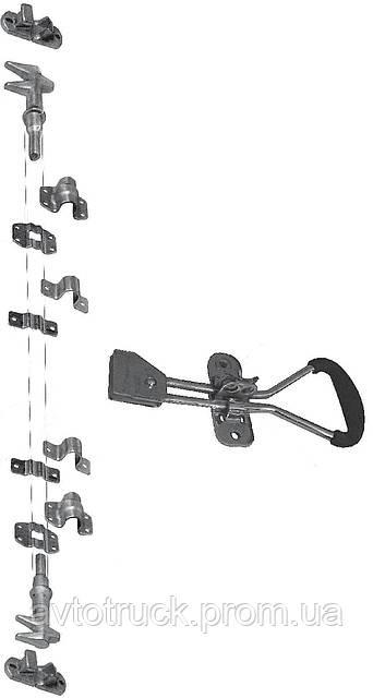 Воротная фурнитура, запор для ворот оцинковка
