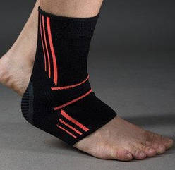 Эластический Голеностоп Ankle Support Evo PS-6022 Black-Orange L R145064