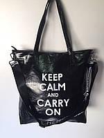 Женские сумки из эко-кожи с надписью