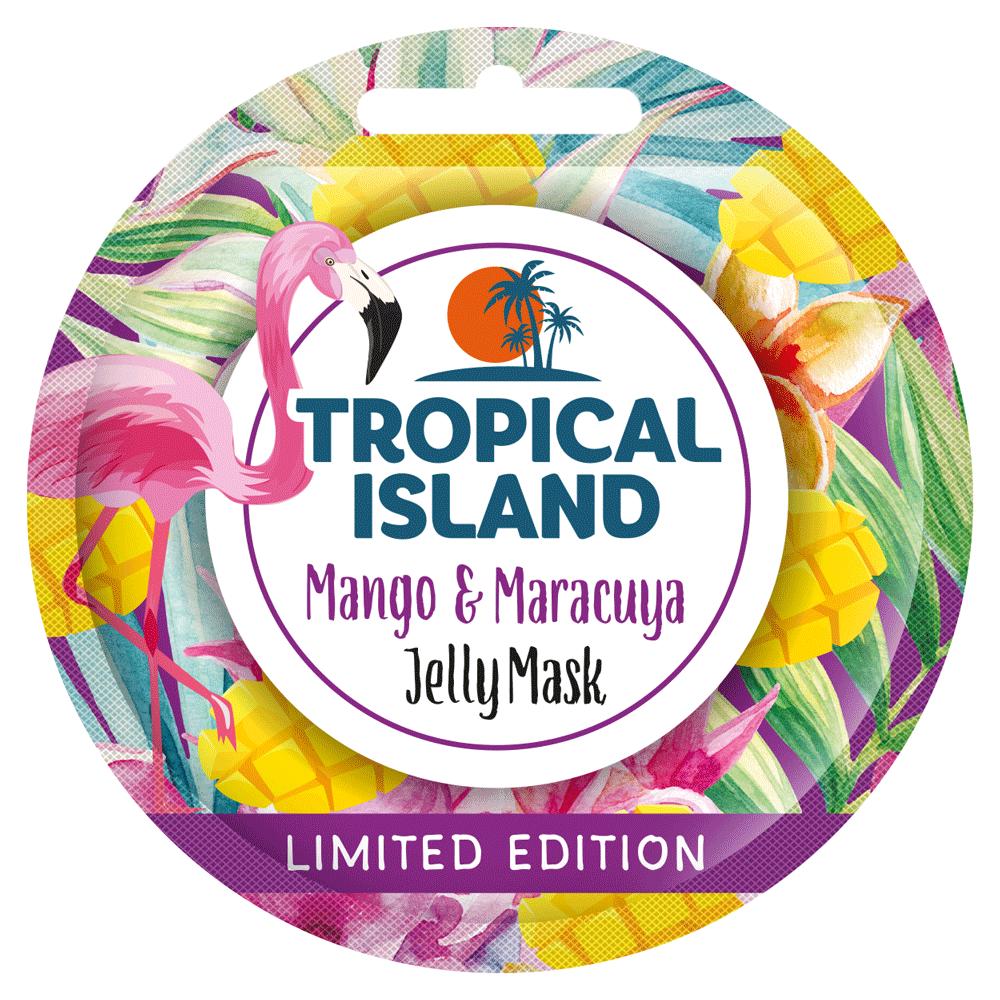 Регенеруюча гелева маска з манго і маракуєю Marion Tropical Island 10 г (4109027)