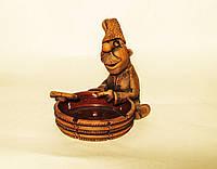 Попільничка керамічна Козак з недопалком, фото 1