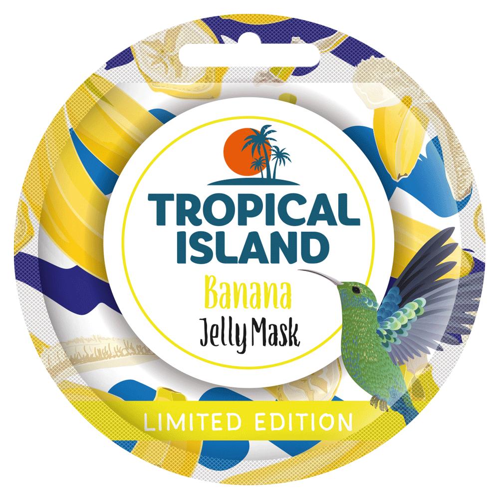 Відновлююча гелева маска з бананом і лимоном Marion Tropical Island 10 г (4109029)