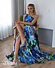 """Платье """"Кисс """", ткань: полированный штапель Италия. Размер: 42,44,46. Разные цвета (6442), фото 3"""