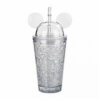 Бутылка Микки Маус (белый)