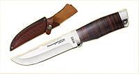 Нож охотничий 2254 L.Рукоять - наборная кожа.охотничьи ножи,товары для рыбалки и охоты,оригинал