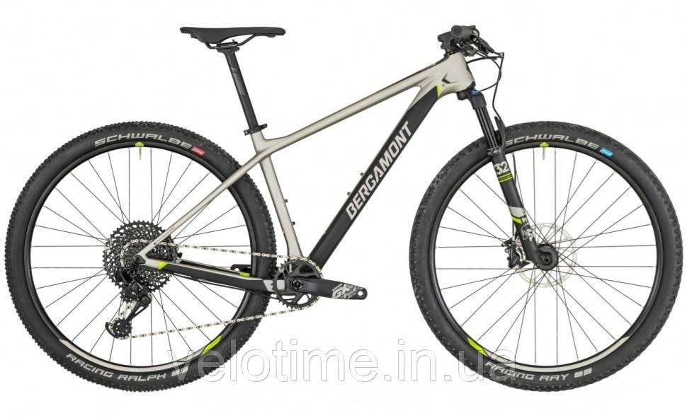 Bergamont Revox Elite 29 2019  (XL, серый-черный-желтый)