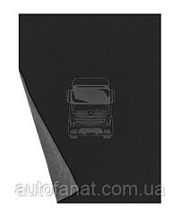 Оригинальный двусторонний плед Mercedes Reversible Fleece Blanket, Trucks, Black (B67872010)