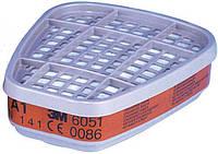 3M™ 6051 Сменный фильтр от органических паров для масок серии 6000
