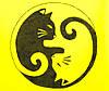 Женская футболка  желтая Крылышко ручная роспись Две кошки размеры 40-46, фото 3