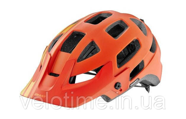 Шлем вел. Giant Rail  (55-59 см, оранжевый-желтый)