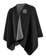 Оригинальная флисовая накидка Mercedes Rwanda Fleece, Unisex, Black (B66953627)