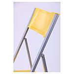 Стул Ибица алюм пластик желтый, фото 7