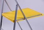 Стул Ибица алюм пластик желтый, фото 8