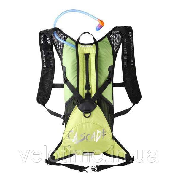 Рюкзак c гидросистемой Giant Cascade 2 (3+5л) (зеленый)