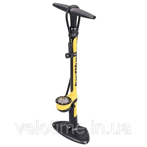 Насос напольный Topeak JoeBlow Sport III  (черный-желтый)