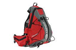 Рюкзак Chiruca Mochila 11L, червоний з сірим