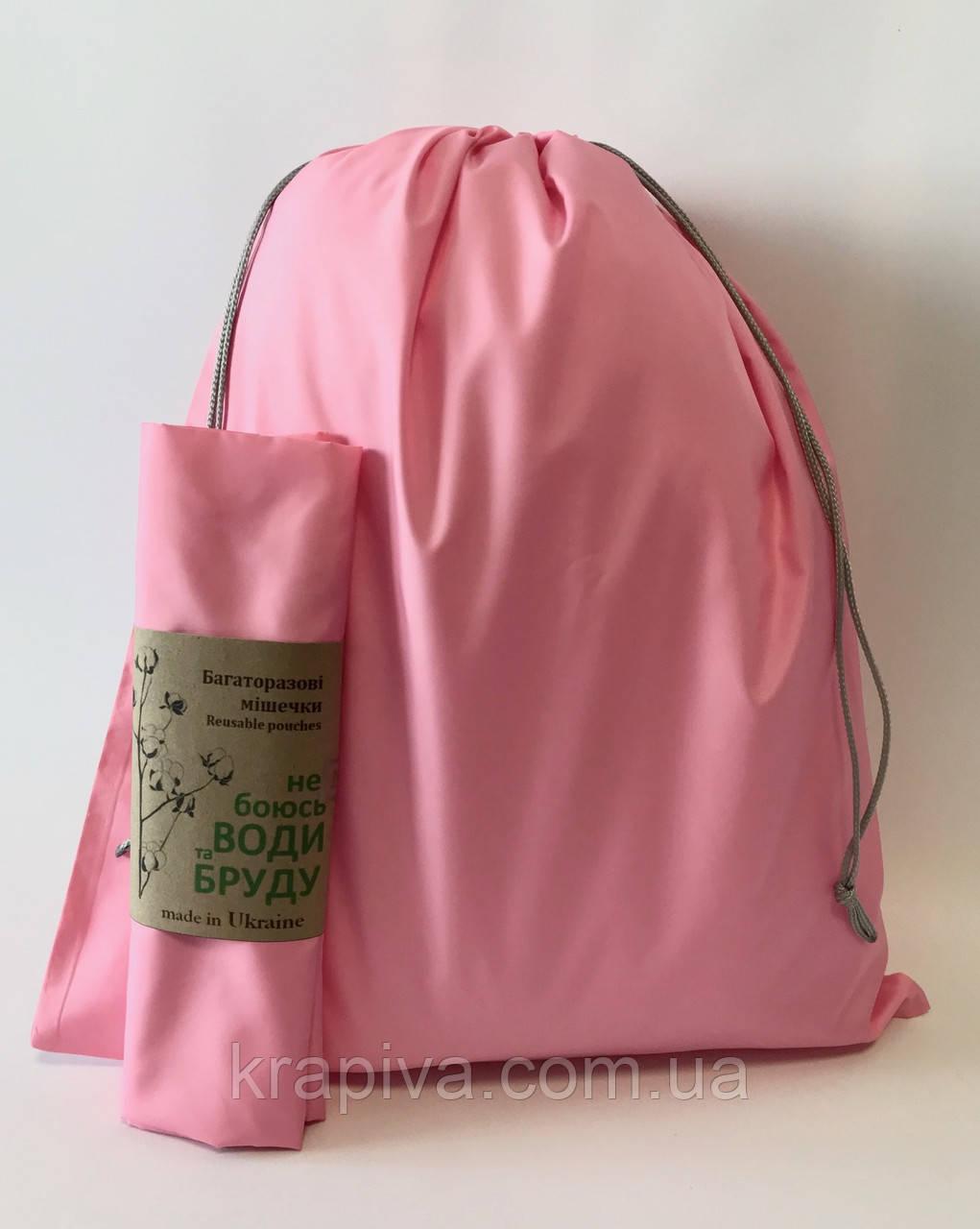 Мешок для обуви, экомешок для вещей и продуктов, эко-мешок, екоторбинка, мешок для игрушек